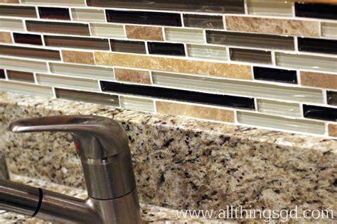 caulking kitchen backsplash tile shop tuesday applying tile all things g d