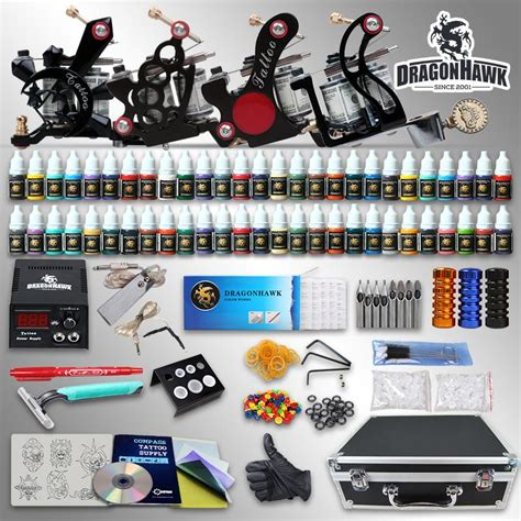 tattoo gun kits for beginners beginner tattoo kits machine guns inks sets power supply