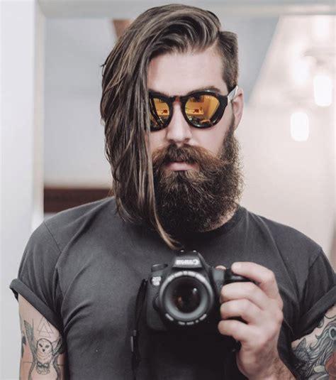 man hair cut sle samurai ponytail google search hair beards