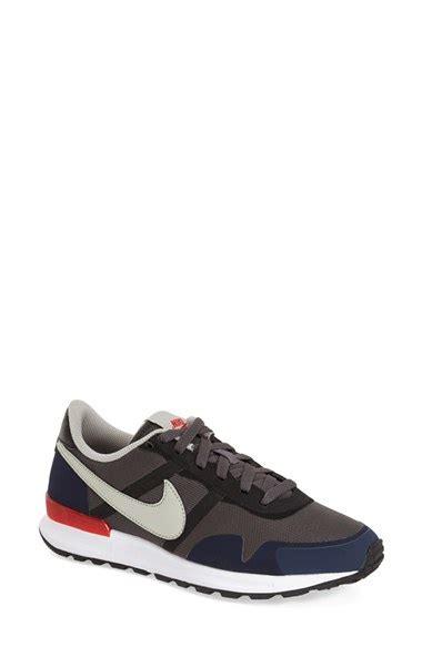 lyst nike air pegasus 83 30 sneaker in gray for