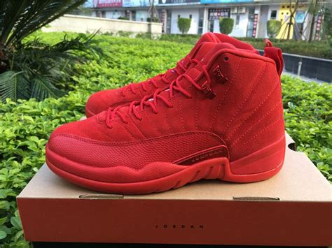 images of christmas jordans 2017 air jordan 12s premium red suede christmas red for