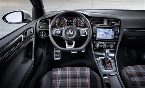 volkswagen gti interior car and driver