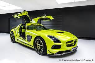 official mercedes sls amg black series by amg