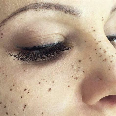 tattoo with lots of freckles tattooing freckles on your face is the new beauty craze