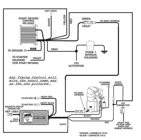 mallory unilite dist wiring diagram msd wiring diagram
