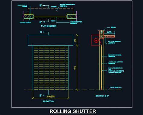 shutter design software rolling shutter detail design plan n design