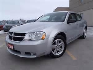 2009 dodge avenger sxt lindsay ontario used car for sale