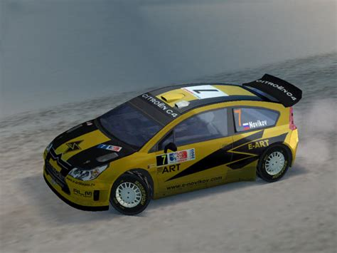 Citroen C4 Rally by Papercraftsquare New Paper Craft Citro 235 N C4 Wrc