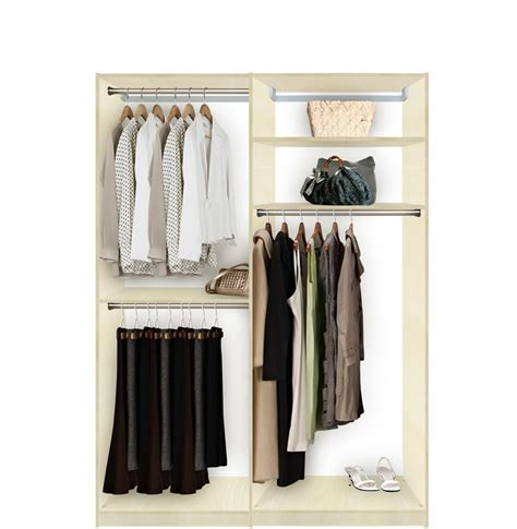 isa custom closets hanging plus contempo space