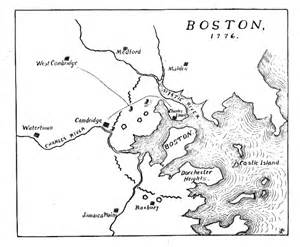 boston map 1776 office of history