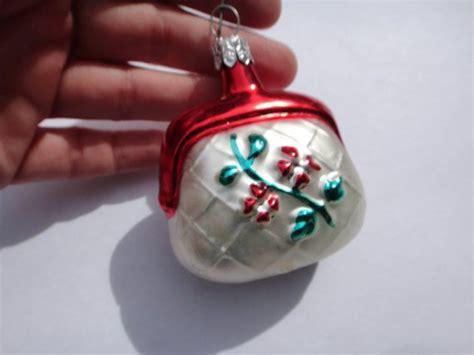 purse ornaments purse ornament german glass vintage