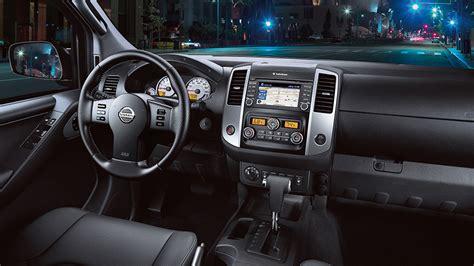 nissan truck 2016 interior nissan frontier tech features