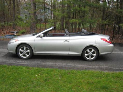 Toyota Solara Convertible For Sale 4t1fa38p55u045246 2005 Toyota Solara Sle Convertible 2