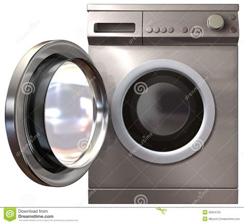 front door washer washing machine front door open royalty free stock photo
