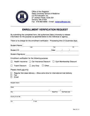 College Enrollment Verification Letter Template School Registration Form Template Blank Pictures To Pin On Pinsdaddy