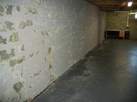 waterproof basement walls dryzone llc basement waterproofing photo album basement walls in need of proper waterproofing