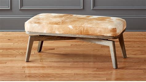 Cowhide Benches - royalton cowhide bench in benches reviews cb2