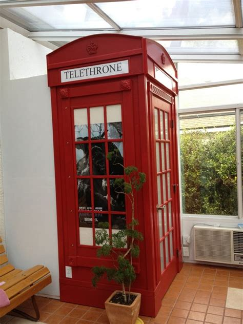 Bathroom London Phone Booth Enclosure Eclectic orlando