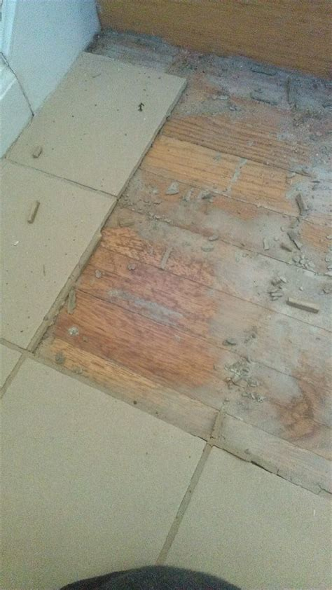 can you install ceramic tile over wood floors home fatare