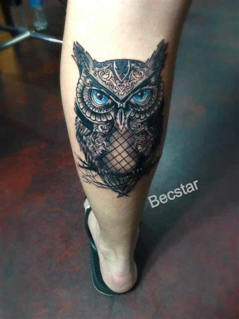 tattoo owl eyes owl tattoos for men inspiration and gallery for guys