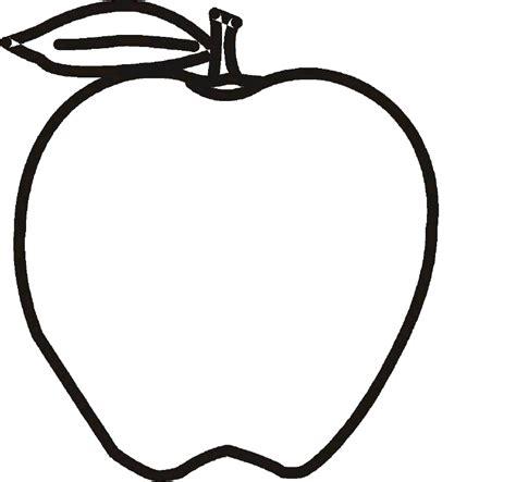 imagenes para colorear manzana manzana para colorear