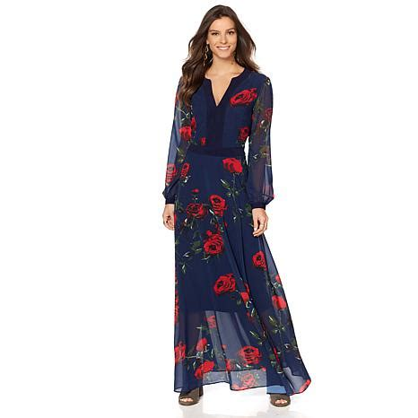 Maxi Sherly sheryl floral print maxi dress 8403772 hsn