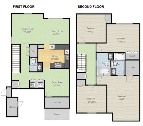 40 best 2d and 3d floor plan design images on