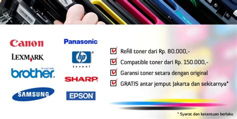 Serbuk Toner Panasonic toko refill toner