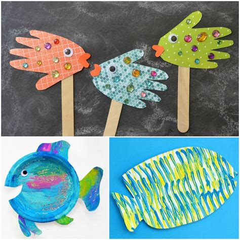 fishing crafts for fish crafts for fantastic learning