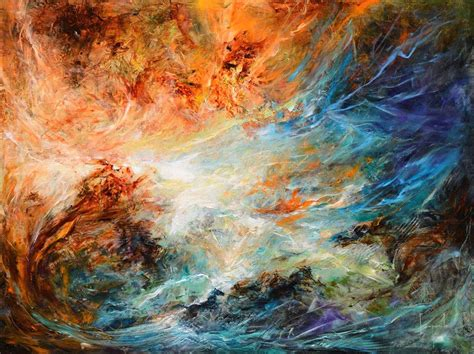 Lukisan Abstrak Digital 24 lukisan abstrak karya dario canile seni rupa