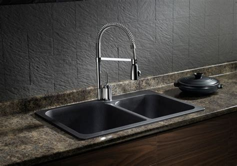 Composite Granite Kitchen Sinks Blanco Silgranit Granite Composite Topmount Kitchen Sink Anthracite The Home Depot