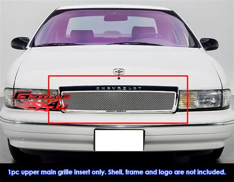 6703 Front Grille Isuzu Nkr 71 fits 1991 1996 chevy caprice stainless steel mesh grille grill insert ebay