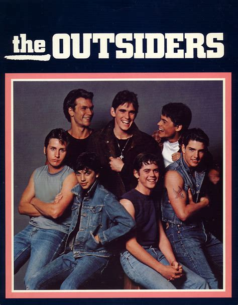 film tom cruise patrick swayze the outsiders