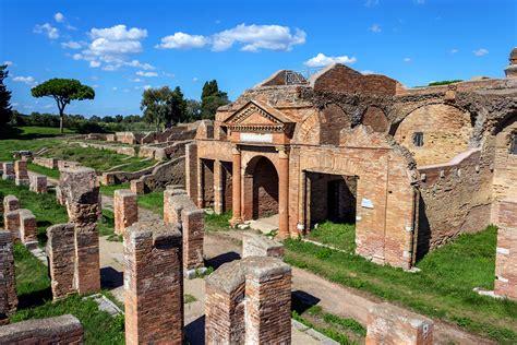Magazzini Romani Civitavecchia by Ostia Antica Gli Scavi Archeologici Port Mobility