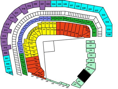 pac bell park seating at t park tickets at t park san francisco tickets at t