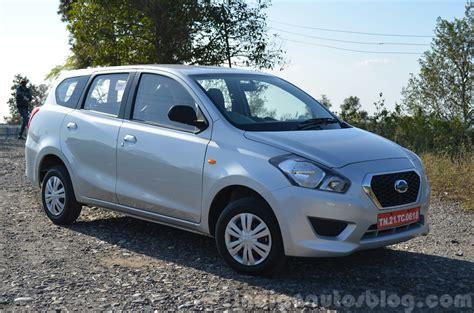 Spare Part Datsun Go Plus datsun go front quarters review indian autos