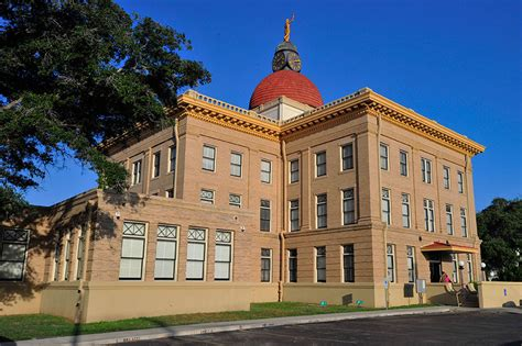 Bee County Records Bee County Courthouse Beeville Thc Gov Historical Commission