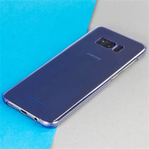Samsung Galaxy S8 Plus Clear Cover Original Violet official samsung galaxy s8 clear cover violet reviews