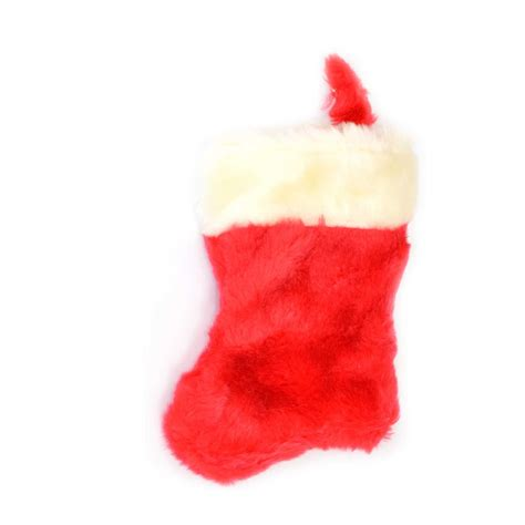 deluxe velvet christmas santa stocking xmas sock with fur