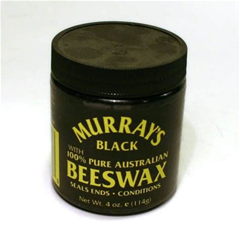 Murray S Beeswax Black Hair Pomade 4 Oz Murray S Beeswax Black Classic Hair Products By Sivletto