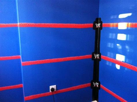 wrestling bedroom wwe bedroom murals by ryall design children s bedroom