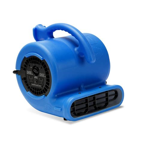 b air 1 4 hp 900 cfm 9 in air mover carpet dryer floor