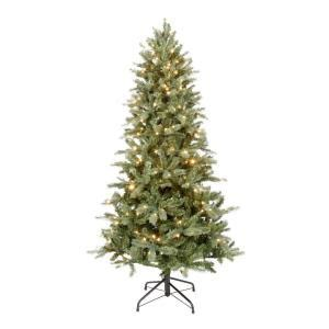 home depot christmas tree return policy ge 6 5 ft pre lit just cut bavarian pine artificial tree with clear lights avi