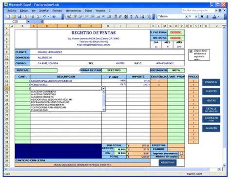 control de inventario en excel facturacion en excel con control de inventarios y formato