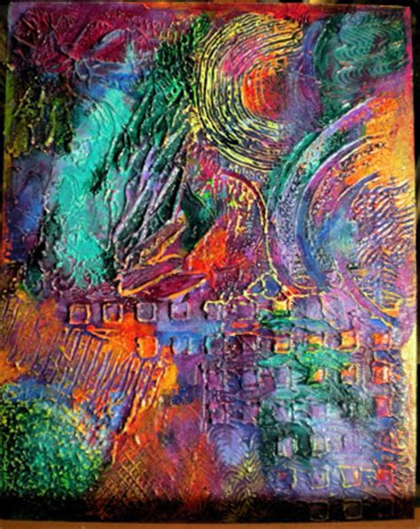 abstract textured paintings mixed media folk new textured abstract paintings