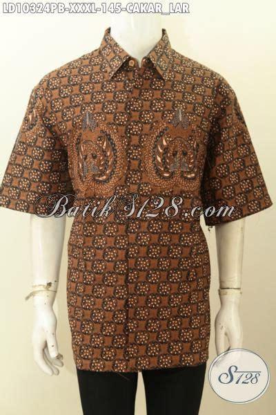 Baju Pria Big Size model baju batik pria gemuk sekali pakaian batik big size