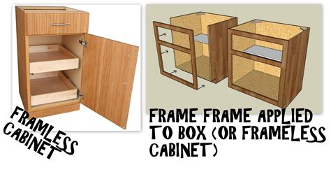 face frame cabinets vs frameless frameless vs faceframe cabinets what s the difference