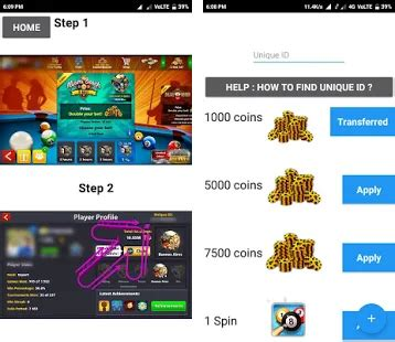 instant coins 8 pool rewards př 245 apk
