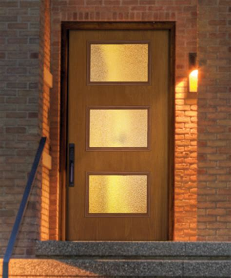 Mid Century Modern Exterior Doors by New Mid Century Doors Available From Therma Tru Retro