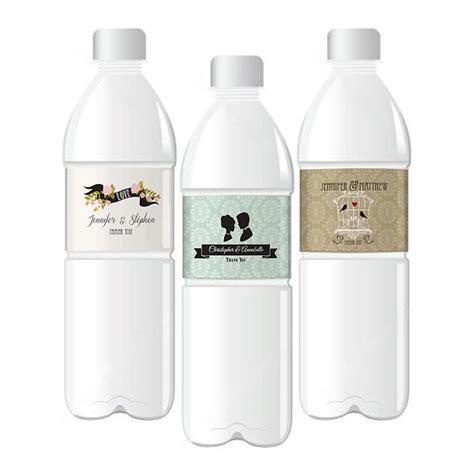 water bottle label design your own vintage theme design your own wedding water bottle labels